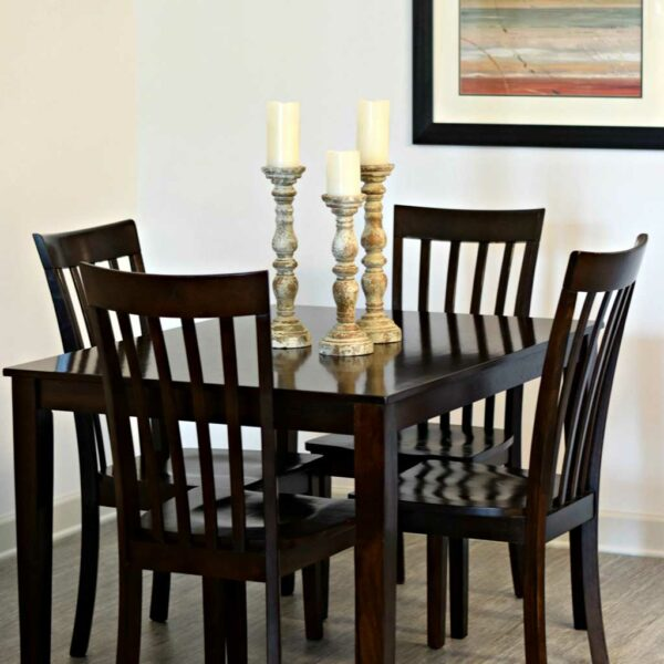 Ashley Package dining table and chairs