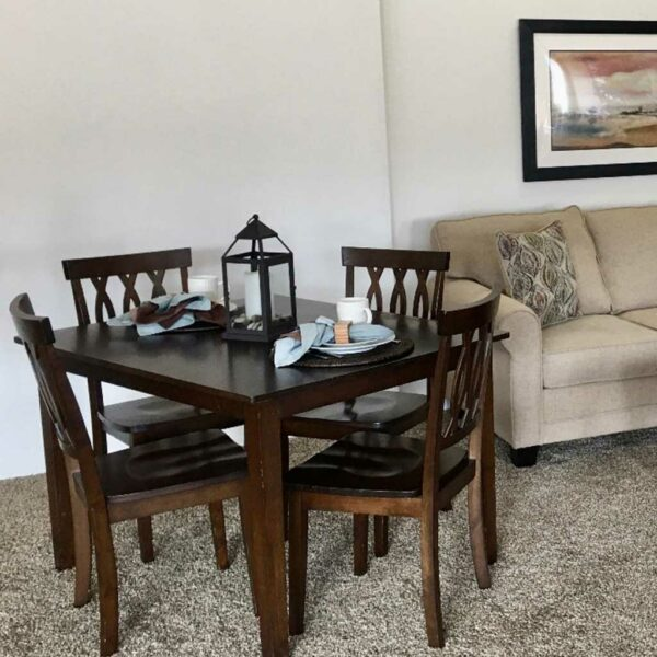 Ashley Package dining and living room furnishings