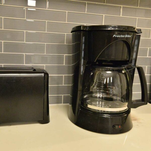 Housewares package coffee pot and toaster