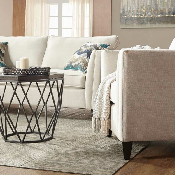 Reedy furniture collection from FSI with neutral colored furniture